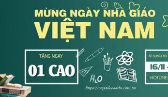 Cà Gai Leo SADU mua 3 tặng 1 nhân kỷ niệm ngày nhà giáo Việt Nam