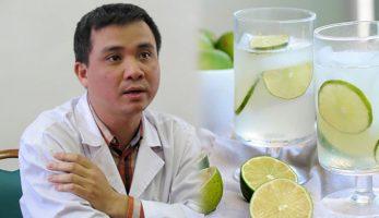 Bác sĩ khuyến cáo khi say rượu không nên uống nước chanh